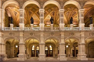 Wiener Staatsoper, Nachtaufnahme