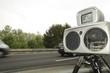 Leinwandbild Motiv speed camera