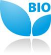 Bio Logo Blau