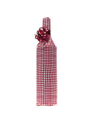 Wrapped in wine bottle