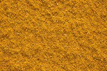 Ground Curry (Madras Curry) background.
