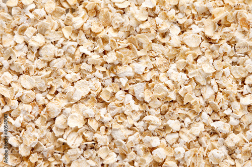 Oatmeal (rolled oats) background