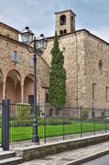 St. Colombano Abbey. Bobbio. Emilia-Romagna. Italy.