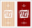 Restaurant Menu Card Design template