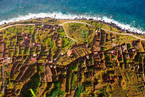 Fotobehang View on Achadas da Cruz, Madeira island, Portugal