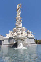 Pallas Athene Brunnen, Wien