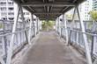 Footbridge in the city