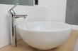 vasque à poser ronde en céramique