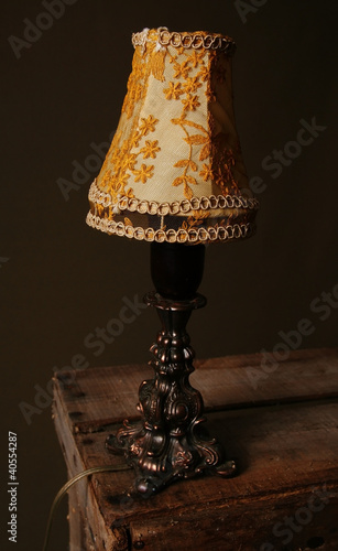 table lamp light vintage