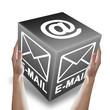 Email 3D Würfel