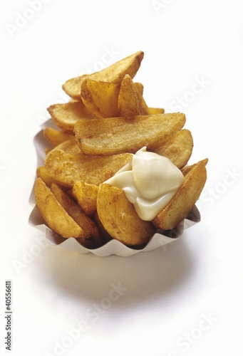 Steak Fries with Mayonnaise