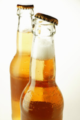 Two bottles of Ginger Ale