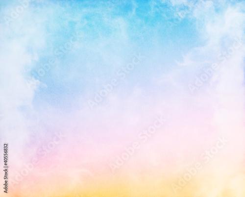 Nebel und Pastell Gradient