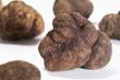 Several black truffles