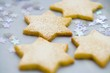Star biscuits (close-up)