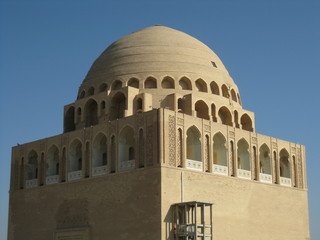 Domed mausoleum in the Silk Road city of Merv