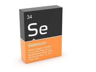 Selenium from Mendeleev's periodic table