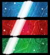 Banners con circuiti elettrici - Electic board banners