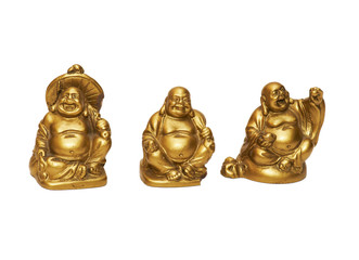 Three china figure