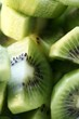 Kiwi fruit, cut into pieces
