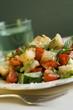 Fatush (Fried bread salad, Egypt)