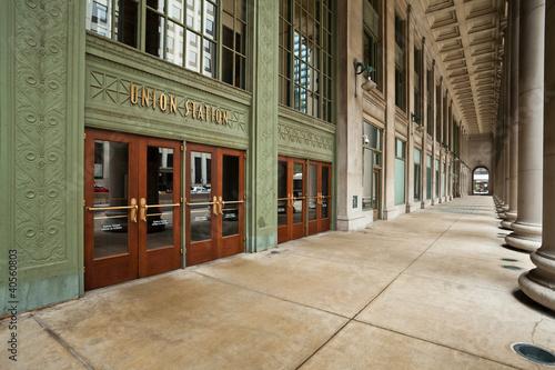 Chicago Union Station Entrance. - 40560803