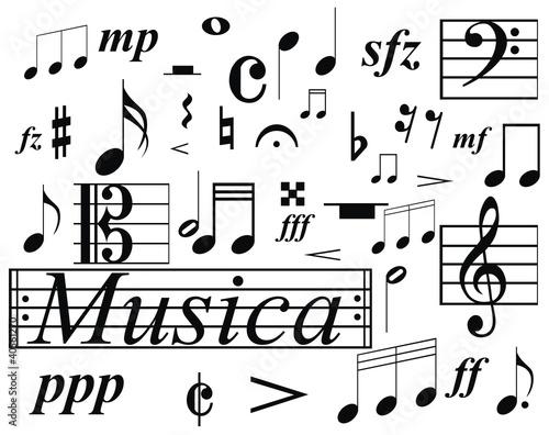 Notas Musicales Imágenes de