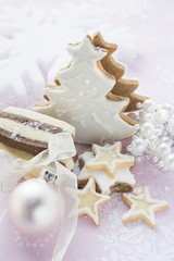 Assorted Christmas biscuits