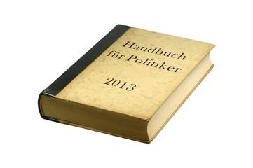 Handbuch für Politiker 2013