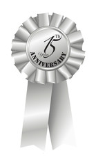 Silver Ribbon for 15th Anniversary
