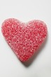 Red jelly heart