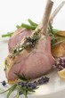 Lamb cutlets with herb crust