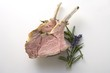 Lamb cutlets with herbs