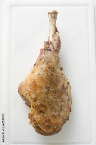 Roast turkey leg