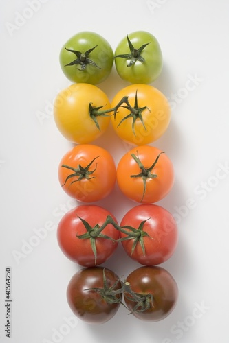 Cherry tomatoes (various colours)