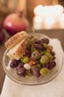 Marinated olives with white bread (Christmas)