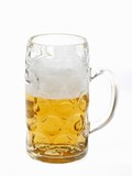 Beer in litre tankard