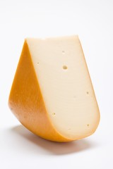 A piece of Edam cheese