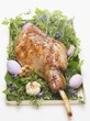Roast leg of lamb for Easter