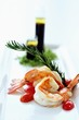 Grilled king prawns, rosemary, olive oil & balsamic vinegar dressing