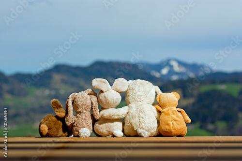Leinwanddruck Bild patchworkfamilie