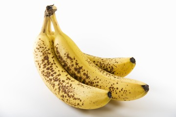 Three Very Ripe Bananas