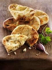 Spicy pita bread