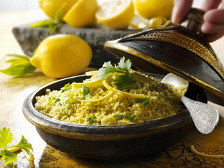 Couscous with lemons