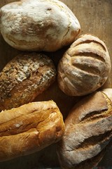Various Loaves of Artisan Bread
