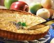 Pastel de manzana y canela (Apple tart with cinnamon, Spain)