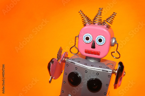 toy robot maid - 40567266