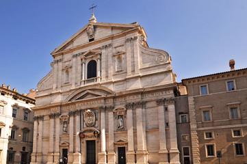 La chiesa del Santissimo Nome di Gesù,  Roma