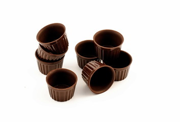 Chocolate edible cup