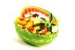Obstkorb aus Melone